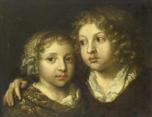 画家の娘と息子(コンスタンティン?)