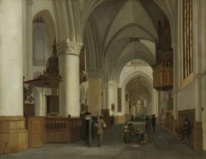 ハーレムの聖バヴォ教会の中