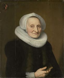 ベリア・クラースドル(1566-1652くらい)の肖像