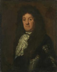 オランダと西フリースランドの海将、コーネリス・トロンプ(1629-91)の肖像