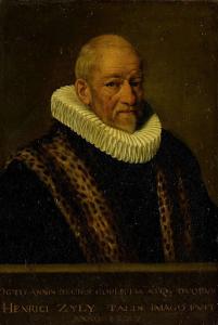ヘンリカス・ヴァン・ジール(1545-1627)の肖像