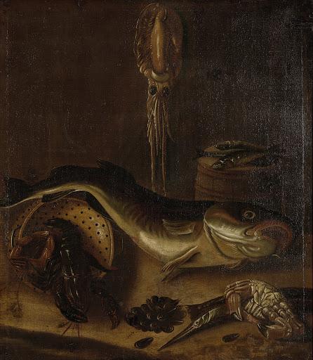 魚の静物画