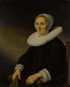 女性の肖像画、おそらくジャコミーナ・デ・グレバー(?-1666)