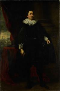 ヴァン・デ・ボルト家の男の肖像、おそらくフランシス・ヴァン・デ・ボルト