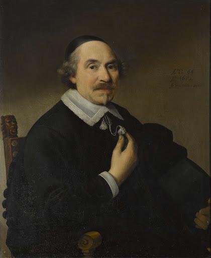 男の肖像画、おそらくアンソニーズ・ピーター・ヴァン・ブロンクホルスト(1588-1661)