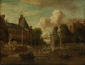 1697年8月29日、モスクワ使節のアムステルダム訪問