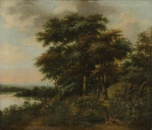 森の風景画