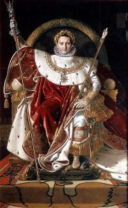 玉座のナポレオン