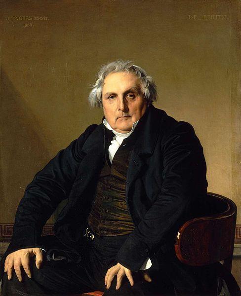 ルイ・フランソワ・ベルタン氏の肖像
