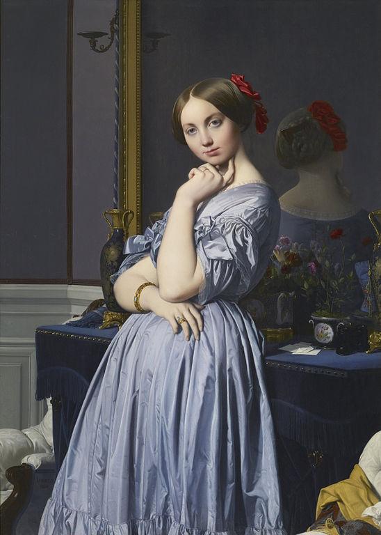 ドーソンヴィル伯爵夫人の肖像