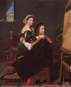 625px-jean_auguste_dominique_ingres_raphael_and_the_fornarina