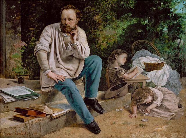 ピエール・ジョゼフ・プルードンの肖像