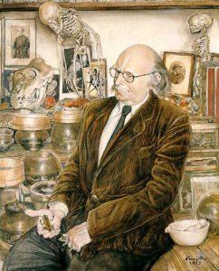 ジャン・ロスタンの肖像