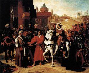 シャルル5世のパリ入城