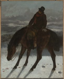hunter_on_horseback_by_gustave_courbet_1864