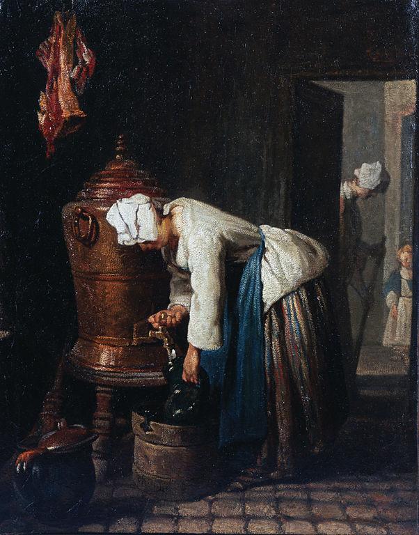 水を汲む女》ジャン・シメオン・シャルダン|MUSEY[ミュージー]