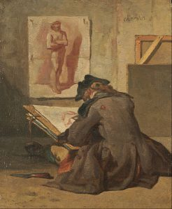 491px-jean_simeon_chardin_-_young_student_drawing_-_google_art_project