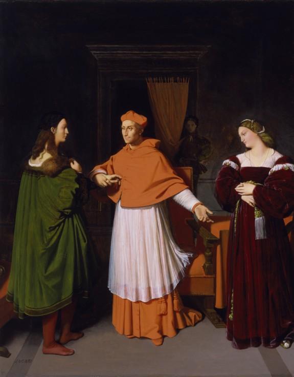 ラファエロと枢機卿ビッビエーナの姪との婚約