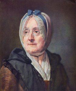 シャルダン夫人の肖像