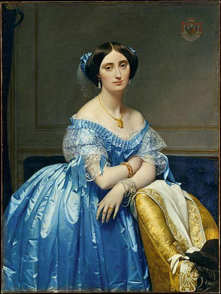 ド・ブロリ公爵夫人の肖像