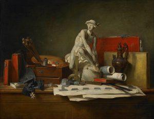芸術の寓意とその報償