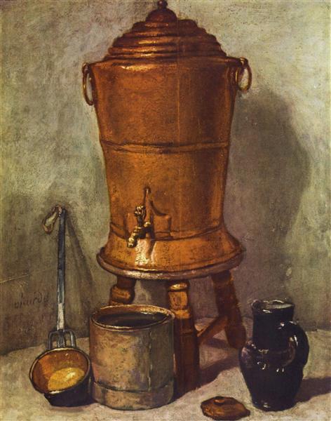 銅製の給水器