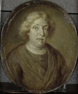 アムステルダムの本のディーラー、詩人、ヤコブ・レスカイリエの肖像