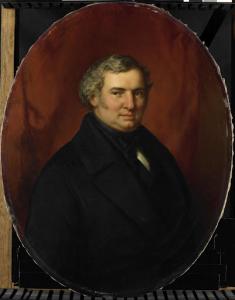 ホイスデン市の役人、ヘンドリク・アンドレ・コルネリス・ティーレンスの死後に描かれた肖像