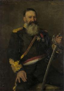 南アフリカ共和国の将軍、ピート・J・ヨーベルト(1831-1900)