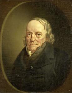 詩人、哲学者、リエージュの教授、ヨハネス・キンカーの肖像