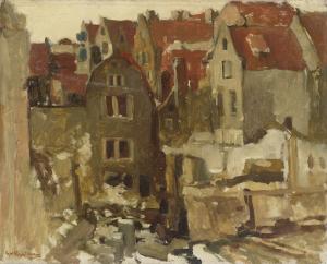 アムステルダム、ニューウェンディックのグランドバザールにある証券取引所の解体