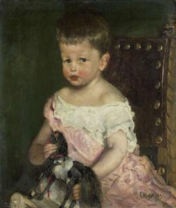 3歳のヘンドリック・ワラー(1887-1951)