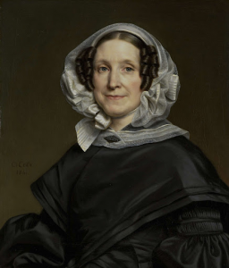 N.J.A.C.ホフマンの妻、アリーナ・ヴァン・デル・ポット(1786-1850)