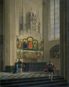 ゲントの聖バヴォ大聖堂のヴァン・エイク兄弟によるゲントの祭壇画