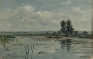 ロープスドレヒト近郊の湖