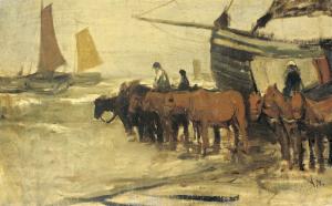 釣り船を海から引き上げるために