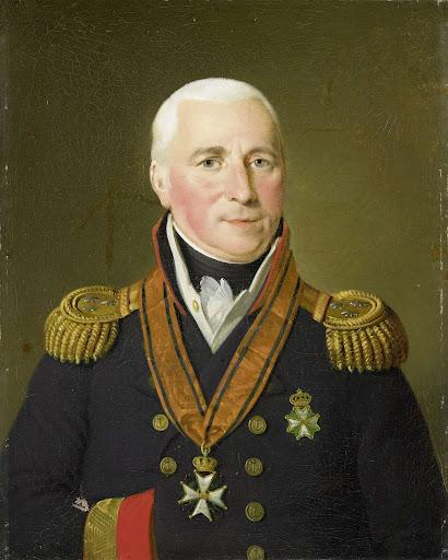 海将、ヘリット・フェルドーレン(1757-1824)の肖像
