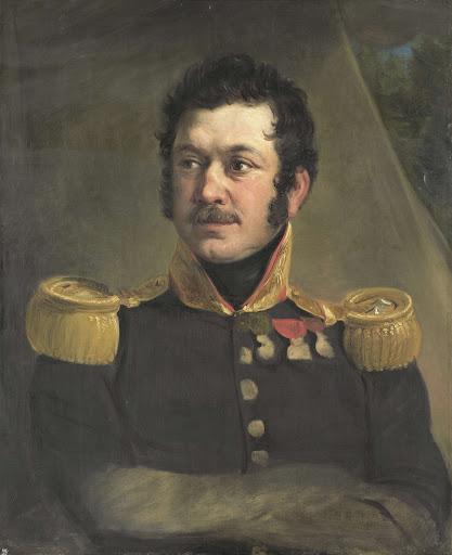 フレデリック・ノッツァー中将の肖像