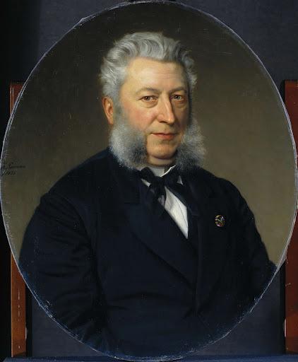 詩人、ヤン・ヤーコブ・ロデウィーク・テン・カテ(1818-89)