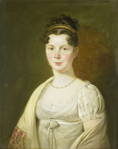 ヘリット・フェルドーレンの四番目の妻、ヴィルヘルミナ・マリア・ハーク(1786-1857)の肖像
