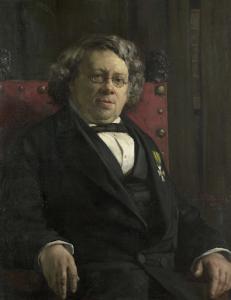 歴史家、地理学者、ピーテル・ハルメ・ウィットカンプ(1816-92)