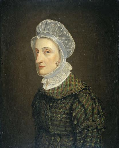 ハインリッヒ・ゴットフリート・テオドール・クローネの妻、マリア・ペトロネラ・マンの肖像