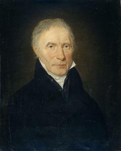 アムステルダムのH.G.Th.クローネ社の創設者、ハインリッヒ・ゴットフリート・テオドール・クローネの肖像