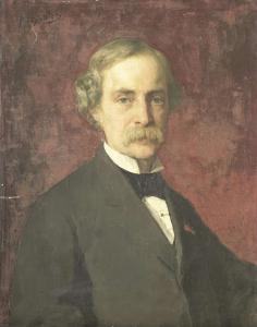 グラフィック・アーティスト、彫刻学校とアムステルダム国立美術館のディレクター、ヨハン・ヴィルヘルム・カイザー(1813-1900)