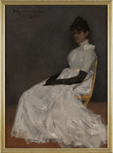 ジェニー・カメルリンフ・オネスの肖像