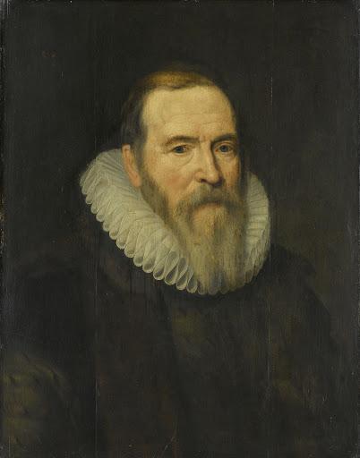 連邦州議会議員、ヨハン・ヴァン・オルデンバルネヴェルトの肖像