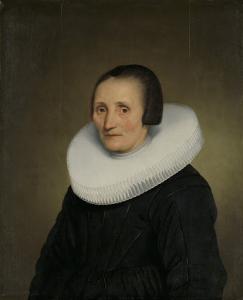 マルガレータ・デ・ギア(1585-1672)の肖像