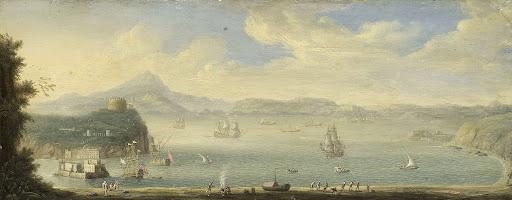 ナポリ湾の眺め