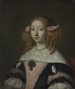 ヨハネス・ウィブランツの妻、アドリアーナ・ヤコブス・ヒンロペン(1646-1736)