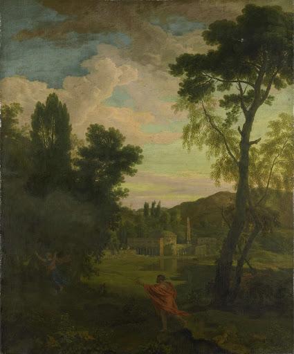 ジュピターとイオがいる、アルカディアの風景